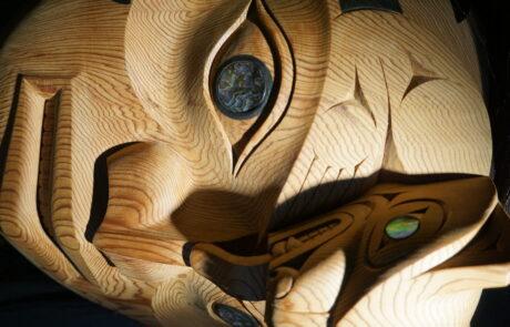 Bear Mother mask indegenious art