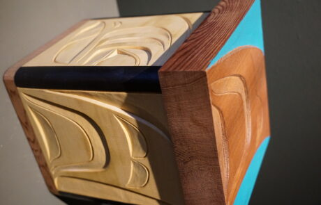 Bentwood box indegenious art