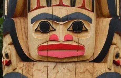 Haida Totem pole Lyle Campbell